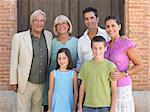 Three generation family Stock Photo - Premium Royalty-Free, Artist: AWL Images, Code: 6114-06610837