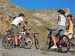 Group of teenage cyclists Stock Photo - Premium Royalty-Free, Artist: CulturaRM, Code: 6114-06610857