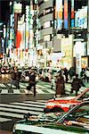 Shibuya at night Stock Photo - Premium Royalty-Free, Artist: Blend Images, Code: 6114-06610888