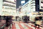 Shibuya crossing Stock Photo - Premium Royalty-Free, Artist: Robert Harding Images, Code: 6114-06610896