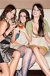 Women having drinks Stock Photo - Premium Royalty-Free, Artist: Blend Images, Code: 6114-06610967