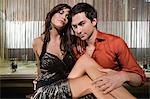 Sexy young couple Stock Photo - Premium Royalty-Free, Artist: Cultura RM, Code: 6114-06610990