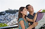 Couple sightseeing Stock Photo - Premium Royalty-Freenull, Code: 6114-06611021
