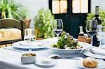 A meal in a restaurant Stock Photo - Premium Royalty-Free, Artist: Yvonne Duivenvoorden, Code: 6114-06611039