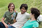 Friends laughing Stock Photo - Premium Royalty-Free, Artist: Glowimages, Code: 6114-06611287