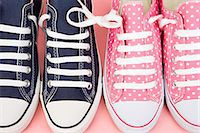 Trainers in a row Stock Photo - Premium Royalty-Freenull, Code: 6114-06611630