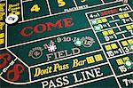 Craps table Stock Photo - Premium Royalty-Free, Artist: Aflo Relax, Code: 6114-06611831