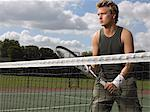 Male tennis player Stock Photo - Premium Royalty-Free, Artist: Aflo Sport, Code: 6114-06611889