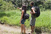 exotic outdoors - Couple hiking Stock Photo - Premium Royalty-Freenull, Code: 6114-06611950