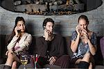 People in a bar on cell phones Stock Photo - Premium Royalty-Free, Artist: Robert Harding Images, Code: 6114-06612488