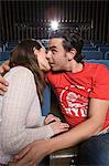 Couple kissing in the cinema Stock Photo - Premium Royalty-Free, Artist: CulturaRM, Code: 6114-06612712