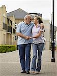 Mature couple strolling Stock Photo - Premium Royalty-Free, Artist: AlaskaStock, Code: 6114-06612953