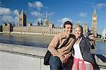 Couple by Houses of Parliament Stock Photo - Premium Royalty-Free, Artist: ableimages, Code: 6114-06613063