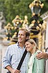 Couple sightseeing in London Stock Photo - Premium Royalty-Freenull, Code: 6114-06613065