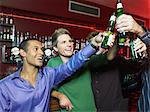 Men drinking in a bar Stock Photo - Premium Royalty-Free, Artist: Arian Camilleri, Code: 6114-06613238