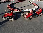 Go kart racing Stock Photo - Premium Royalty-Free, Artist: Blend Images, Code: 6114-06613254