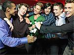 Men drinking in a bar Stock Photo - Premium Royalty-Free, Artist: R. Ian Lloyd, Code: 6114-06613259