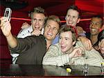 Men drinking shots at a bar Stock Photo - Premium Royalty-Free, Artist: Aflo Sport, Code: 6114-06613266