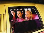 Women in limousine Stock Photo - Premium Royalty-Free, Artist: Cultura RM, Code: 6114-06613419