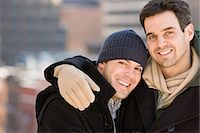 Portrait of a homosexual couple Stock Photo - Premium Royalty-Freenull, Code: 6114-06613431