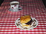 Cream tea Stock Photo - Premium Royalty-Free, Artist: Ron Fehling, Code: 6114-06613502