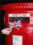 Red postbox Stock Photo - Premium Royalty-Free, Artist: Mark Peter Drolet, Code: 6114-06613544