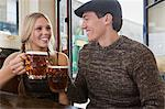 Young couple in pub Stock Photo - Premium Royalty-Free, Artist: Mark Burstyn, Code: 6114-06613546
