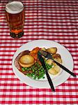 Roast dinner Stock Photo - Premium Royalty-Free, Artist: Tim Mantoani, Code: 6114-06613547