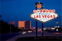Welcome to Las Vegas sign Stock Photo - Premium Royalty-Freenull, Code: 6106-06614841
