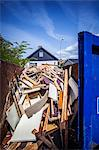 Heap of wood against house Stock Photo - Premium Royalty-Free, Artist: Cultura RM, Code: 698-06615693