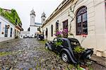 Old car turned into planter on cobblestone street in Colonia del Sacramento, Uruguay, South America Stock Photo - Premium Rights-Managed, Artist: Robert Harding Images, Code: 841-06616310