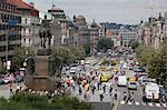Wenceslas Square and St. Wenceslas statue, Prague, Czech Republic, Europe Stock Photo - Premium Rights-Managed, Artist: Robert Harding Images, Code: 841-06616355