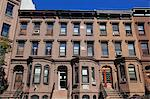 Brownstones, Harlem, Manhattan, New York City, United States of America, North America Stock Photo - Premium Rights-Managed, Artist: Robert Harding Images, Code: 841-06616660