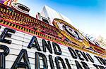 Close up of Chicago Theatre marquee, Chicgo, Illinois, United States of America, North America Stock Photo - Premium Rights-Managed, Artist: Robert Harding Images, Code: 841-06616691