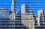 Buildings on West Wacker Drive reflected in the Trump Tower, Chicago, Illinois, United States of America, North America Stock Photo - Premium Rights-Managed, Artist: Robert Harding Images, Code: 841-06616697