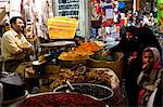 Inside the galleries of the Great Bazaar of Isfahan, Iran, Middle East Stock Photo - Premium Rights-Managed, Artist: Robert Harding Images, Code: 841-06616757
