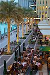 Restaurants near the Fountain, The Dubai Mall, Dubai, United Arab Emirates, Middle East Stock Photo - Premium Rights-Managed, Artist: Robert Harding Images, Code: 841-06616877