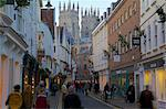 Colliergate and Minster at Christmas, York, Yorkshire, England, United Kingdom, Europe Stock Photo - Premium Rights-Managed, Artist: Robert Harding Images, Code: 841-06616973