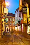The Shambles at Christmas, York, Yorkshire, England, United Kingdom, Europe Stock Photo - Premium Rights-Managed, Artist: Robert Harding Images, Code: 841-06616978