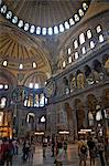 Interior of the Hagia Sophia Museum, UNESCO World Heritage Site, Istanbul, Turkey, Europe, Eurasia Stock Photo - Premium Rights-Managed, Artist: Robert Harding Images, Code: 841-06617027