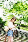 Woman Checking Smartphone Stock Photo - Premium Rights-Managed, Artist: Aflo Relax, Code: 859-06617463