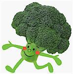Broccoli Illustration Stock Photo - Premium Rights-Managed, Artist: Aflo Relax, Code: 859-06617600