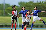 Women Playing Soccer Stock Photo - Premium Rights-Managed, Artist: Aflo Sport, Code: 858-06617741