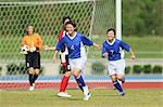 Women Playing Soccer Stock Photo - Premium Rights-Managed, Artist: Aflo Sport, Code: 858-06617747