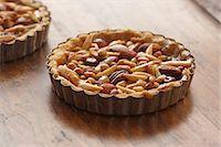 Nut Tart Stock Photo - Premium Royalty-Freenull, Code: 618-06618181