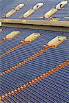 seating rows in stadium Stock Photo - Premium Royalty-Free, Artist: Raimund Linke, Code: 618-06618456