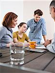 Business People Working and Meeting in Office Stock Photo - Premium Royalty-Free, Artist: Uwe Umsttter, Code: 600-06620995