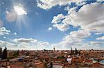 Marrakesh cityscape and clouds Stock Photo - Premium Royalty-Free, Artist: Robert Harding Images, Code: 649-06622279