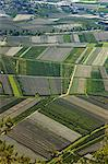 Aerial view of crop fields Stock Photo - Premium Royalty-Free, Artist: Atli Mar Hafsteinsson, Code: 649-06622296