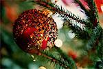 Close up of Christmas ornament Stock Photo - Premium Royalty-Free, Artist: Susan Findlay, Code: 649-06622612